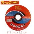CUTTING DISC METAL & SS 115 X 2.5 X 22.22MM