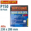 PREMIUM WATERPROOF PAPER  150 GRIT 230  X 28 (50 PIECE) AUTOMOTIVE