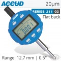DIGITAL INDICATOR FLAT BACK 12.7MM/0.5'