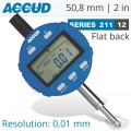 DIGITAL INDICATOR FLAT BACK 50.8MM/2'
