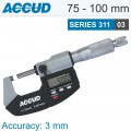 DIGITAL OUTSIDE MICROMETER 75-100MM 0.001MM RES.