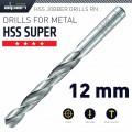 HSS SUPER DRILL BIT 12MM