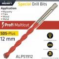PROFI MULTICUT SDS DRILL BIT 12 X 160MM