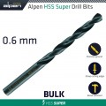 HSS SUPER DRILL BIT 0.6MM BULK
