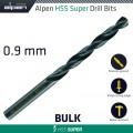 HSS SUPER DRILL BIT 0.9MM BULK