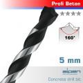 CONCRETE PROFI BETON DRILL BIT 5.0 X 150MM