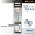COBALT DRILL BIT SHORT POUCH 3.5MM