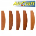 AIR IMP. WRENCH SERVICE KIT ROTOR BLADES ONLY 6PC SET (18) FOR AT0004