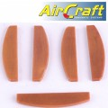 AIR DRILL SERVICE KIT ROTOR BLADE 5PC SET (20) FOR AT0005