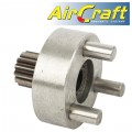 IDLE GEAROIN & GEAR FOR AIR DRILL 12.5MM REVERSABLE 550RPM (1/2')