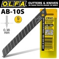 OLFA BLADES STAINLESS STEEL 10/PACK 9MM