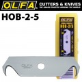 OLFA HOOK BLADES FOR SK3/SK4/UTC1  5/PK PLASTIC CASE