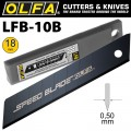 OLFA SPEED BLADE 18MM IN PLASTIC CASE