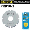 OLFA BLADES PERFORATION PRB18-2 18MM