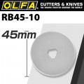 OLFA BLADES ROTARY RB45-10 10/PACK 45MM