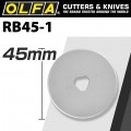 OLFA BLADES ROTARY RB45-1 1/PACK 45MM
