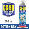 GEN PURPOSE CLEAR GREASE W/PTFE CG-90 500 ML