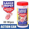LARGE WIPES 80 SHEETS 195 X 300MM