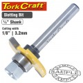 ROUTER BIT SLOTTED 1/8' (3.2MM)