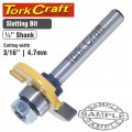 ROUTER BIT SLOTTED 3/16' (4.76MM)