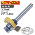 ROUTER BIT SLOTTED 5/16' (7.94MM)