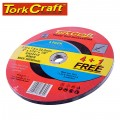 4+1 FREE CUTTING DISC METAL 230X1.6X22.22MM