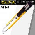 OLFA CUTTER 12.5MM MIGHTY TOUGH CUTTER WITH AUTO LOCK SNAP OFF KNIFE