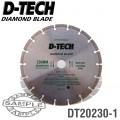 DIAMOND BLADE SEGMENTED STD. 230 X 22.23MM