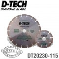 DIAMOND BLADE 230MMX22.22MM+115MMX22.2MM SEGEMENTED