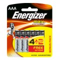 ENERGIZER MAX AAA - 6PACK 4+2 FREE (4+2) X12 PER BOX