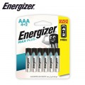 ENERGIZER ADVANCED AAA - 6PACK 4+2 FREE