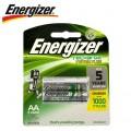 ENERGIZER RECHARGE 1400MAH   AA - 2 PACK (MOQ6)