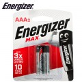 ENERGIZER MAX AAA - 2 PACK (MOQ 20)