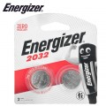 ENERGIZER 3V LITHIUM COIN BATTERY 2 PACK 2032 (MOQ X12)