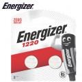 ENERGIZER 3V LITHIUM COIN BATTERY CR1220 (2 PACK)  (MOQ 12)
