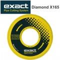DIAMOND X165 BLADE FOR CAST IRON,DUCTILE PC280E,360E
