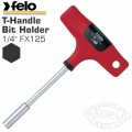 FELO 338 1/4'FX125 BIT HOLDER T-HANDLE