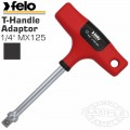 FELO 397 1/4'MX125 ADAPTER T-HANDLE