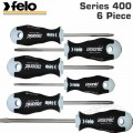 FELO 400 S/DRIVER  SET 6PC ERGONIC INOX SL/PH/PZ/TX