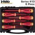 FELO 413 S/DRIVER SET 6PC ERGONIC INSULATED VDE SL/PH/PZ