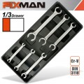 FIXMAN 6-PC FLARE WRENCHES 6 TO 24MM