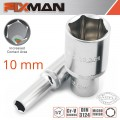 FIXMAN 1/2' DR DEEP SOCKET 10MM