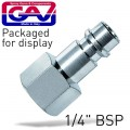 CONNECTOR GERMAN 1/4'FEM. 2 PACKAGED
