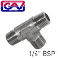 T CONNECTOR 1/4'MMM    (GIO1067/2)