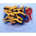 SPRING STAR CLAMPS 25MM 20 PIECES IN BLISTER