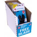IMPERIAL 10PCE DISP. BOX 32MM HCS BLADE 3+1 FREE PACK FOR WOOD/PVC