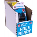 IMPERIAL 10PCE DISP. BOX 64MM HCS BLADE 3+1 FREE PACK FOR WOOD/PVC