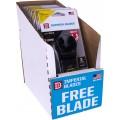 IMPERIAL 10PCE DISP. BOX 44MM BIM TIN BLADE 3+1 FREE PACK FOR METAL/WO