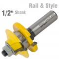 RAIL & STYLE 1/2 SHANK