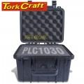 HARD CASE 270X245X185MM OD WITH FOAM BLACK WATER & DUST PROOF (231815)